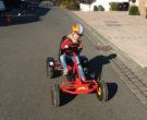 April 2016 Lucy fährt Kettcar